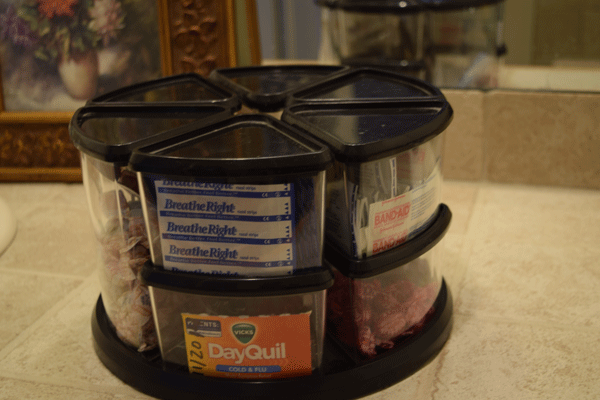 Clear containers lets you see what's inside.